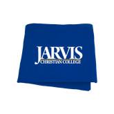 Royal Sweatshirt Blanket-Jarvis Christian College - Institutional Mark