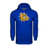 Under Armour Royal Performance Sweats Team Hoodie-Major - Bulldog Head