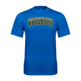 Syntrel Performance Royal Tee-Arched Jarvis Christian College Bulldogs