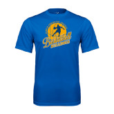 Syntrel Performance Royal Tee-Basketball w/ Player in Ball Design