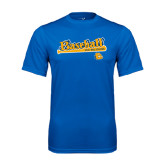 Syntrel Performance Royal Tee-Baseball Bat Design