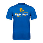 Syntrel Performance Royal Tee-Can You Dig It - Volleyball Design
