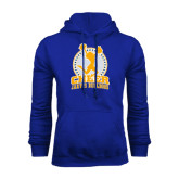 Royal Fleece Hoodie-Cheer Design