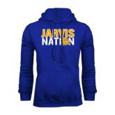 Royal Fleece Hoodie-Jarvis Nation