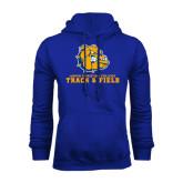 Royal Fleece Hoodie-Track and Field