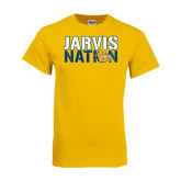 Gold T Shirt-Jarvis Nation