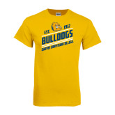 Gold T Shirt-Est. 1912 Bulldogs