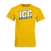 Gold T Shirt-JCC Bulldogs