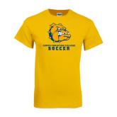 Gold T Shirt-Soccer