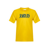Youth Gold T Shirt-Jarvis Christian College - Institutional Mark