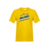 Youth Gold T Shirt-Est. 1912 Bulldogs