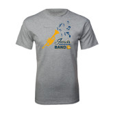 Grey T Shirt-Band Design