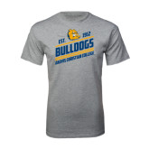 Grey T Shirt-Est. 1912 Bulldogs
