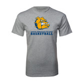 Grey T Shirt-Basketball