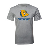 Grey T Shirt-Softball