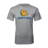 Grey T Shirt-Track and Field