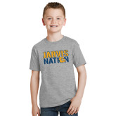 Youth Grey T-Shirt-Jarvis Nation