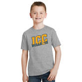 Youth Grey T-Shirt-JCC Bulldogs
