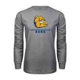 Grey Long Sleeve T Shirt-Band