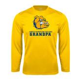 Syntrel Performance Gold Longsleeve Shirt-Grandpa