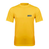 Syntrel Performance Gold Tee-Jarvis Christian College - Institutional Mark
