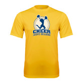 Syntrel Performance Gold Tee-Cheer Design