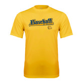 Syntrel Performance Gold Tee-Baseball Bat Design