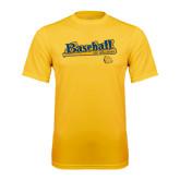 Syntrel Performance Gold Tee-Baseball Bat Design