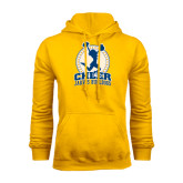 Gold Fleece Hoodie-Cheer Design