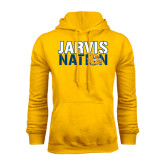 Gold Fleece Hoodie-Jarvis Nation