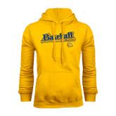Gold Fleece Hoodie-Baseball Bat Design