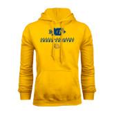 Gold Fleece Hoodie-Cross Country Design