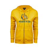ENZA Ladies Gold Fleece Full Zip Hoodie-Track and Field