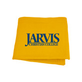 Gold Sweatshirt Blanket-Jarvis Christian College - Institutional Mark