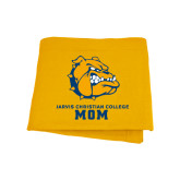 Gold Sweatshirt Blanket-Mom