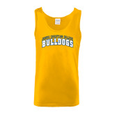Gold Tank Top-Arched Jarvis Christian College Bulldogs