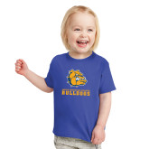Toddler Royal T Shirt-Jarvis Chrsitian College Bulldogs w/ Major Stacked