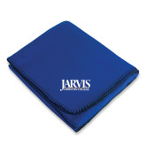 Royal Arctic Fleece Blanket-Jarvis Christian College - Institutional Mark