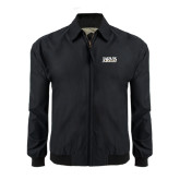 Black Players Jacket-Jarvis Christian College - Institutional Mark