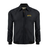 Black Players Jacket-Arched Jarvis Christian College Bulldogs
