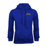 Royal Fleece Hoodie-Arched Jarvis Christian College Bulldogs