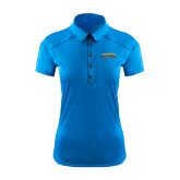 Ladies Ogio Sapphire Blue Pleated Back Polo-Arched Jarvis Christian College Bulldogs