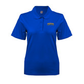Ladies Easycare Royal Pique Polo-Arched Jarvis Christian College Bulldogs