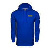 Under Armour Royal Performance Sweats Team Hoodie-Arched Jarvis Christian College Bulldogs