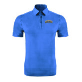 Sapphire Horizontal Textured Polo-Arched Jarvis Christian College Bulldogs