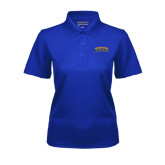 Ladies Royal Dry Mesh Polo-Arched Jarvis Christian College Bulldogs