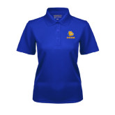 Ladies Royal Dry Mesh Polo-Jarvis Chrsitian College Bulldogs w/ Major Stacked