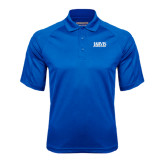 Royal Textured Saddle Shoulder Polo-Jarvis Christian College - Institutional Mark