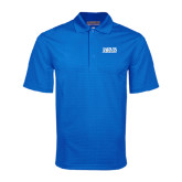 Royal Mini Stripe Polo-Jarvis Christian College - Institutional Mark
