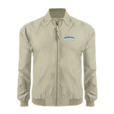 Khaki Players Jacket-Arched Jarvis Christian College Bulldogs